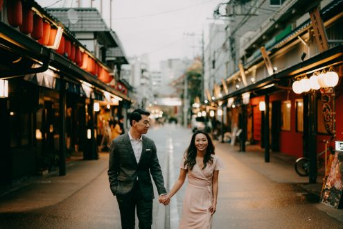 Tokyo engagement photographer - Japan pre-wedding photography