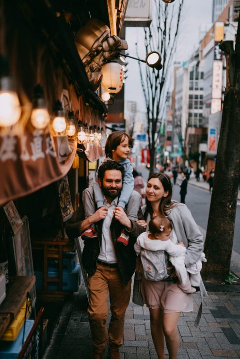 Tokyo family vacation photographer - Ippei and Janine Photography