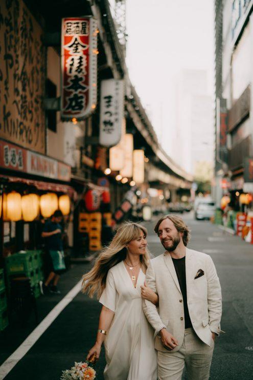 Tokyo elopement photographer - Japan portrait photography