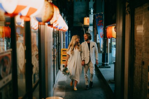 Tokyo elopement photographer - Wedding portrait photography