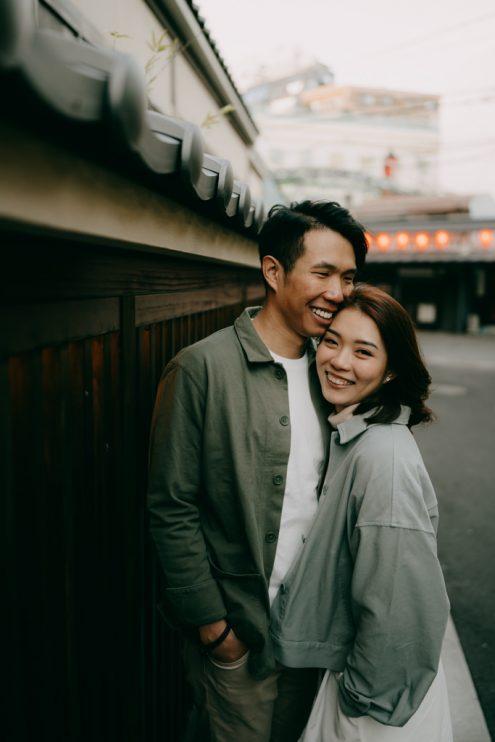 Tokyo engagement portrait photography - Japan pre-wedding photographer