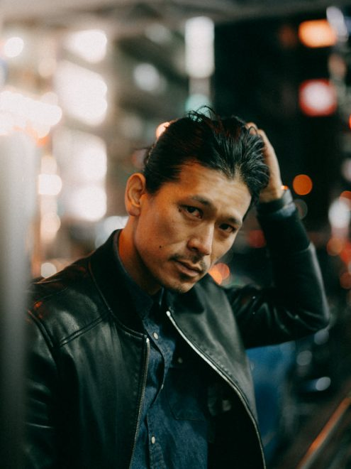 Tokyo portrait photographer - Cinematic portrait by Ippei and Janine Photography