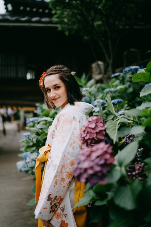 Tokyo kimono portrait photography - English speaking portrait photographer in Tokyo