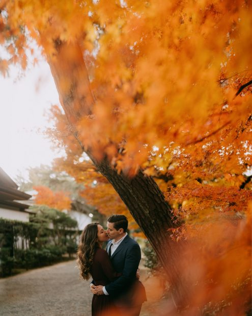 Tokyo pre-wedding photography - Tokyo portrait photographer Ippei & Janine