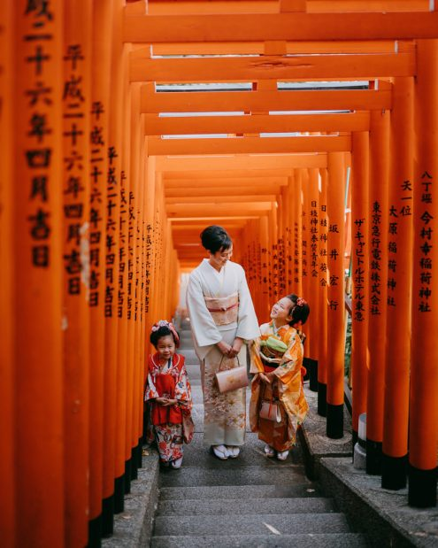 Tokyo family portrait photographer - Japan vacation photography