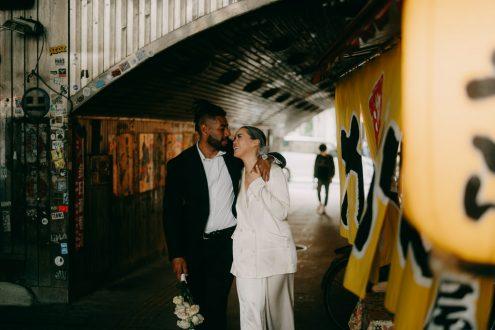 Tokyo elopement photographer - Ippei and Janine portrait photography