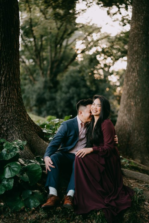 Tokyo engagement photography - Japan portrait photographer Ippei and Janine