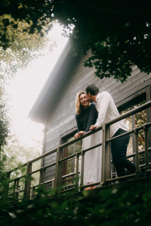 Tokyo pre-wedding photography - Engagement portrait photographer Ippei & Janine