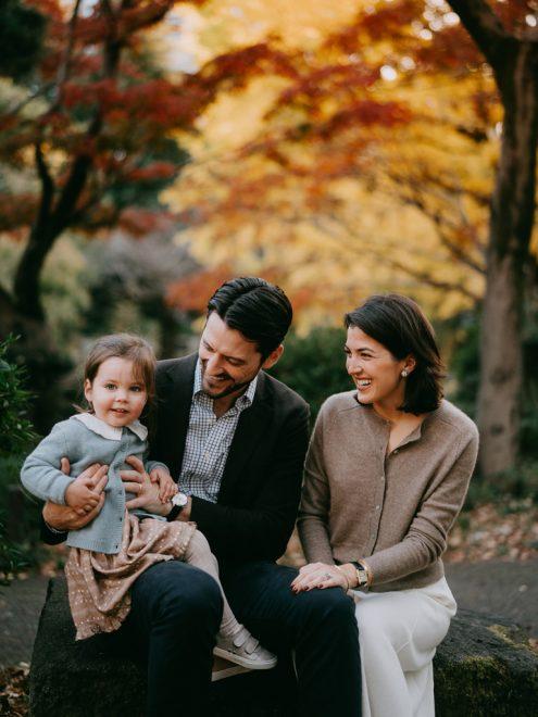 Tokyo family photography - Portrait photographer Ippei & Janine