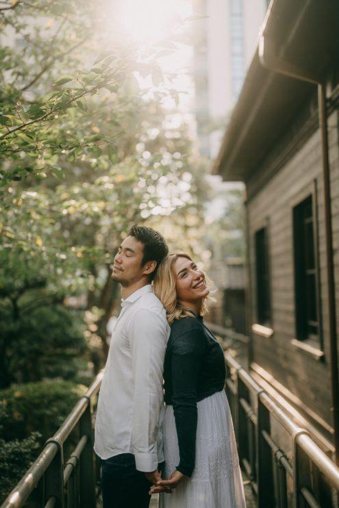Tokyo pre-wedding photographer - Portrait photography by Ippei & Janine