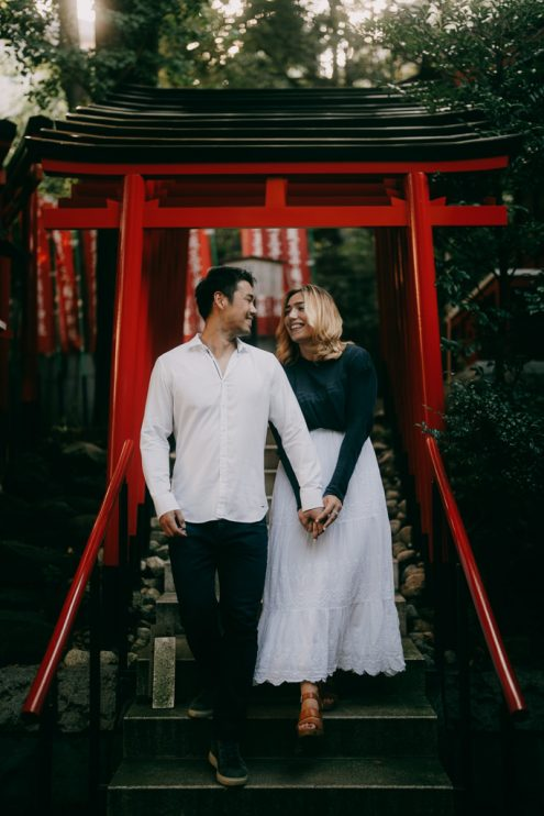 Tokyo engagement photographer - Portrait photography by Ippei and Janine
