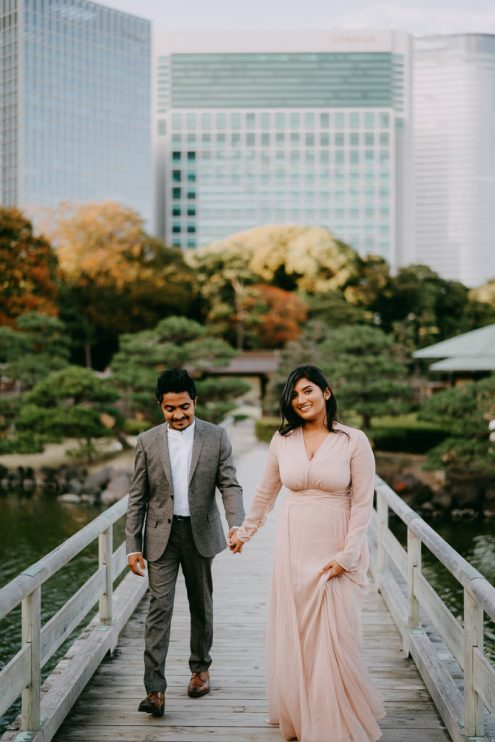 Tokyo engagement photographer - Pre-wedding photoshoot in Japan