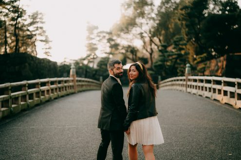 Tokyo elopement wedding photographer - Japan portrait photography
