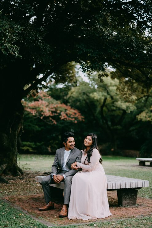 Tokyo elopement photoshoot - Wedding photography by Ippei and Janine