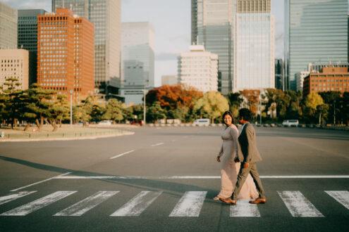 Tokyo elopement photoshoot