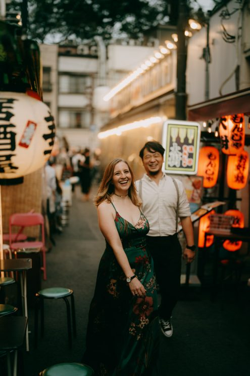 Tokyo engagement photographer - Ippei and Janine Photography