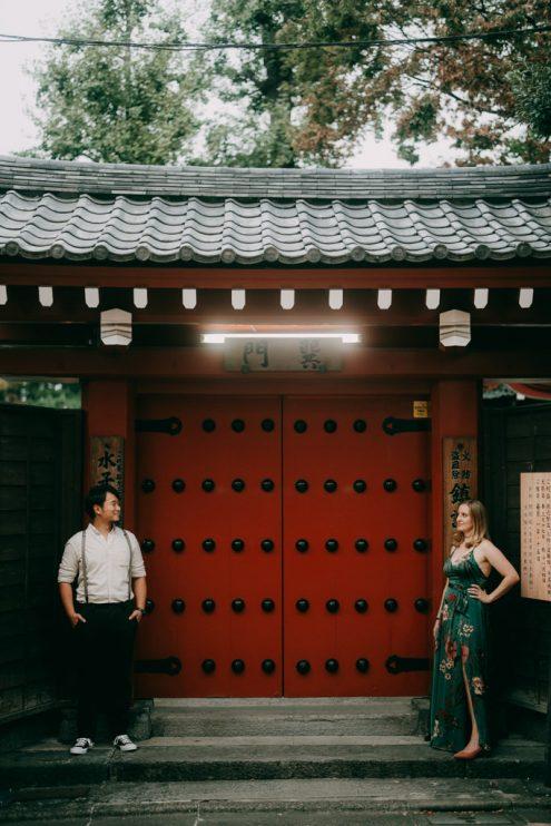 Tokyo engagement photography - Portrait photographer Ippei & Janine