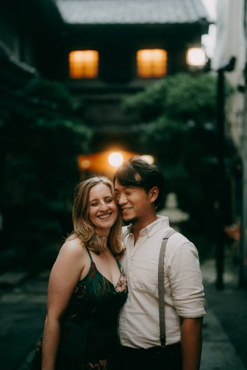Tokyo engagement portrait photographer - Ippei and Janine Photography