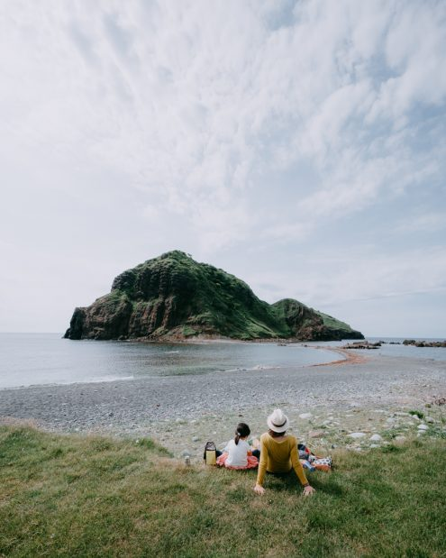 Japan family outdoor adventure photography by Ippei and Janine