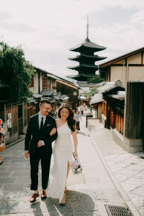 Kyoto wedding photographer - Ippei and Janine Photography