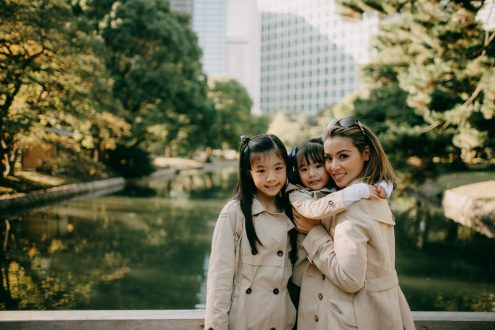 English speaking Tokyo family portrait photographer - Ippei and Janine Photography