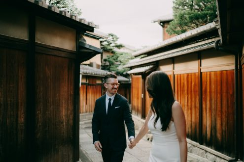 Kyoto elopement wedding photographer - Ippei and Janine Photography