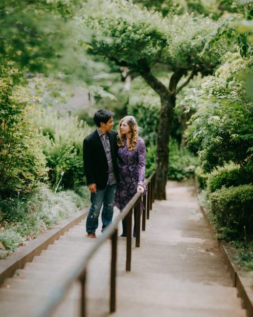 Tokyo Pre-Wedding Couple Portrait - by Ippei and Janine Photography