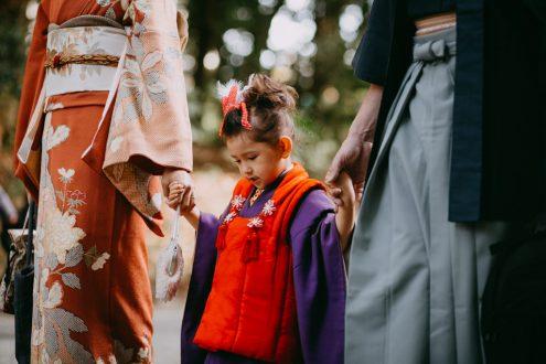 Tokyo family kimono photography - English speaking portrait photographer - Ippei and Janine