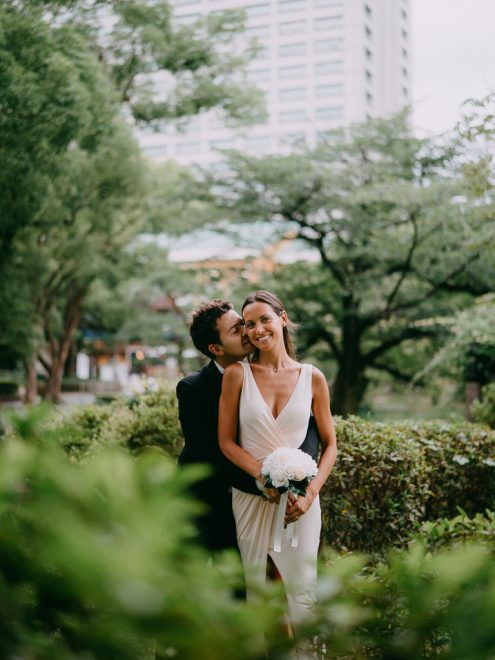 Tokyo elopement photography - Japan wedding photographer