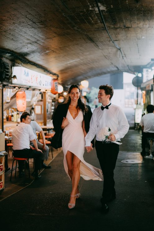 Tokyo elopement wedding photographer - Ippei and Janine portait photography