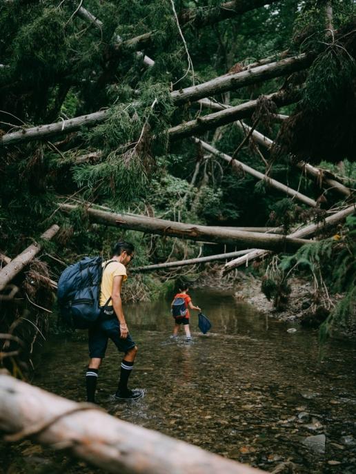 Stream trekking in Chiba, Tokyo day trip