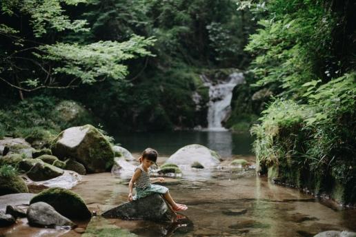 Outdoor day trip from Tokyo, Hananuki Gorge, Ibaraki