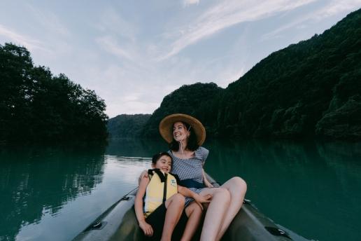 Tokyo canoeing day trip in Saitama, Lake Tamayodo