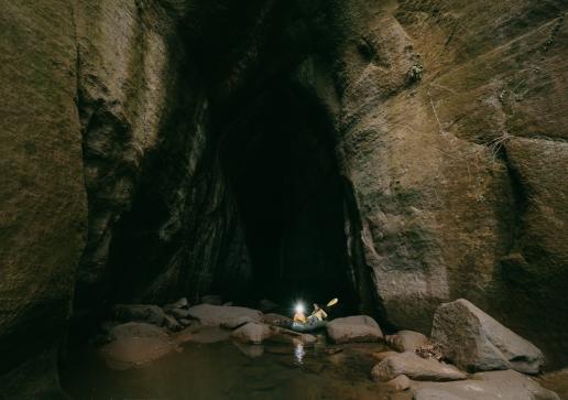 Dondon cave of Urajiro River, Chiba