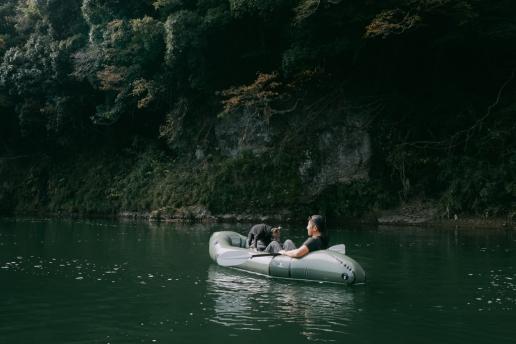Tokyo day trip packrafting - Nakagawa River