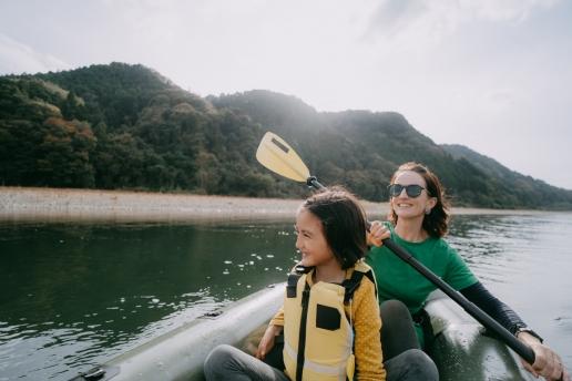 Tokyo day trip kayaking - Nakagawa River