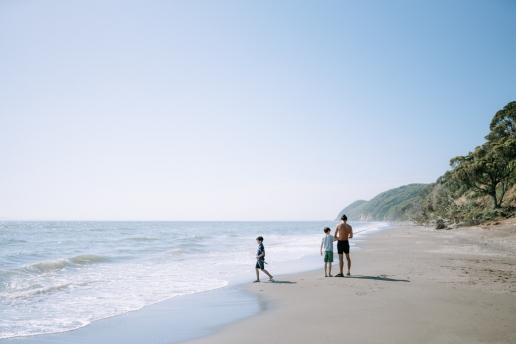 Day trip to wild beach on Tokyo Bay, Chiba