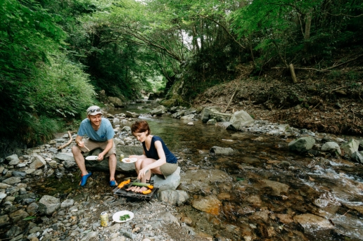 Day trip from central Tokyo, Akigawa Gorge