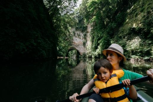 Kayaking adventure day trip from Tokyo, Lake Kameyama-ko, Chiba