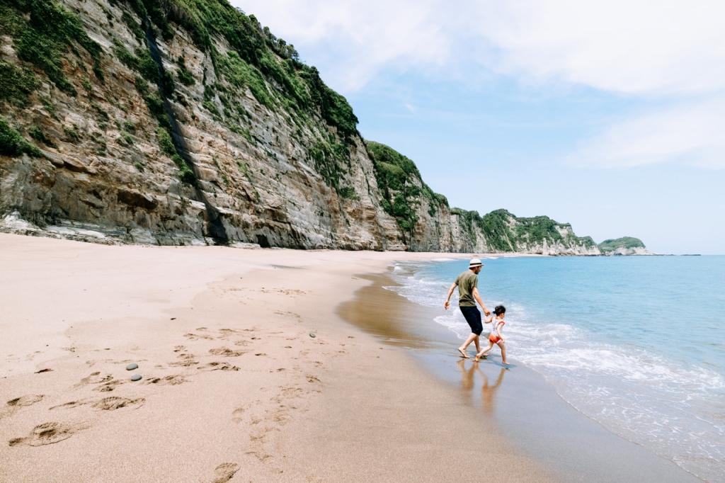 Tokyo day trip to a beautiful secret beach in Chiba