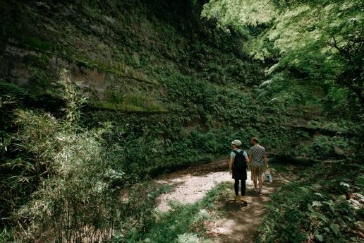 Hiking day trip from Tokyo, Umegase Keikoku Gorge, Chiba
