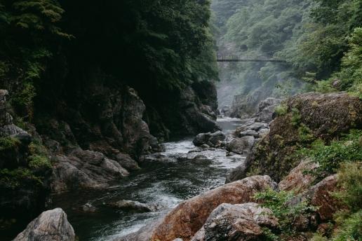 Outdoor day trip to Tokyo's nature, Hatonosu Gorge