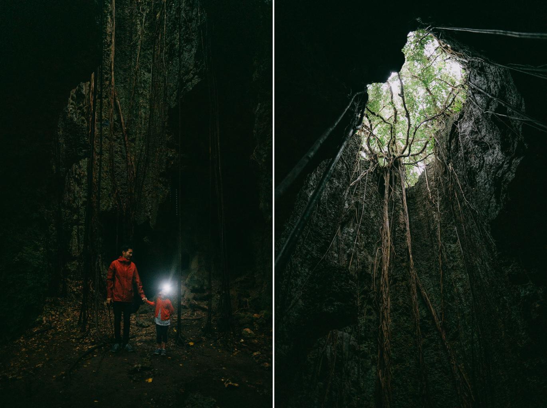 Limestone underground cave, Irabu Island, Miyakojima, Okinawa, Japan