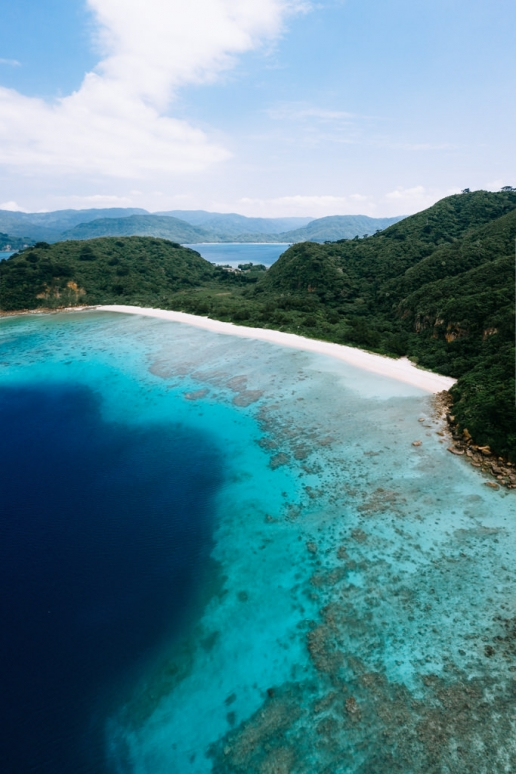 Idanohama Beach (Ida Beach), Iriomote Island, Okinawa, Japan