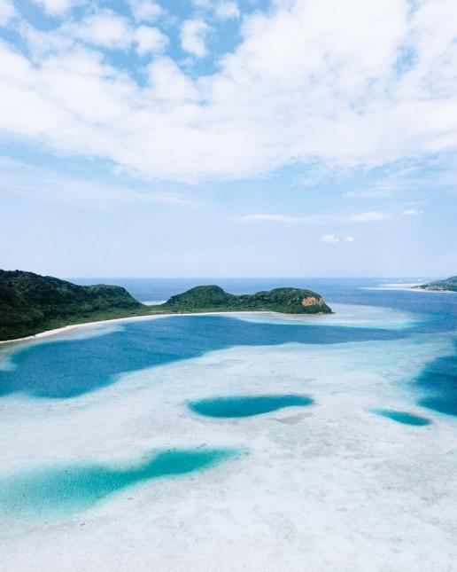 Japanese tropical island, Iriomote-jima of Yaeyama Islands, Okinawa