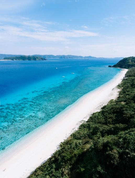 Nishibama Beach, Aka Island, Okinawa, Japan
