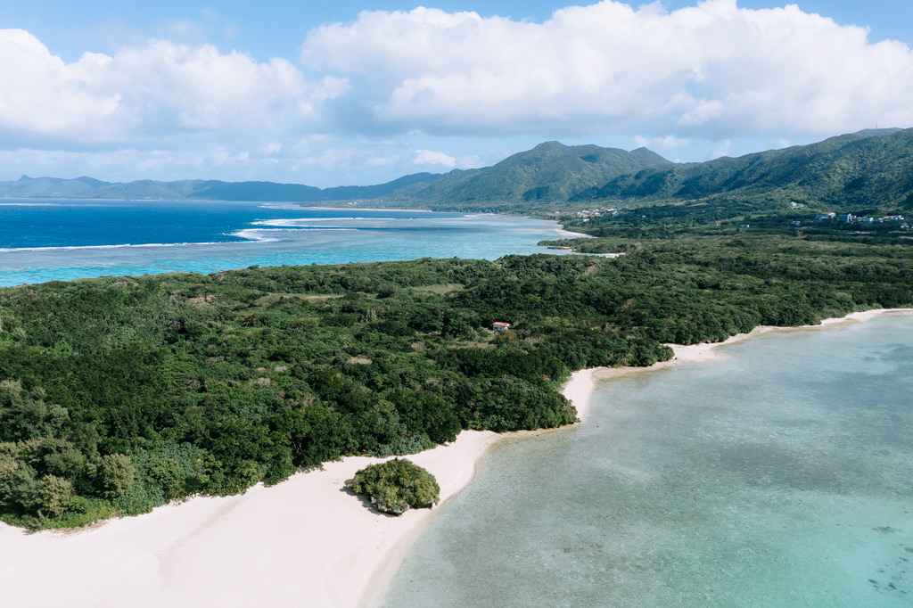 Tropical landscape of Ishigaki, Okinawa, Japan