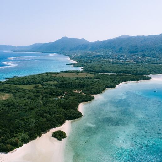 Tropical Japan from above, Ishigaki Island, Okinawa