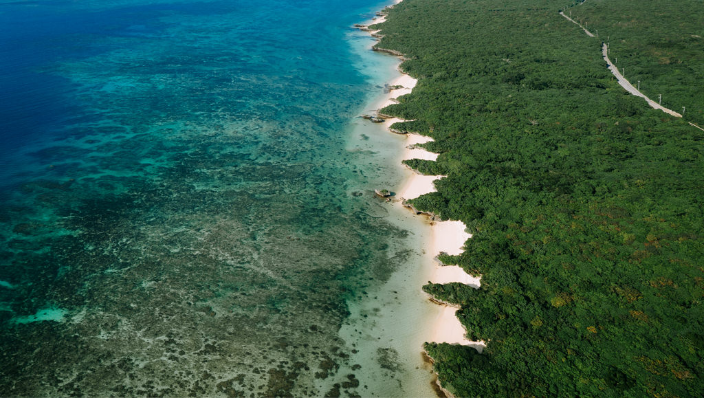 Ishigaki Island coastline, Yaeyama Islands, Okinawa, Japan