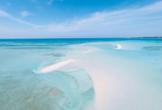 Coral cays, Miyako Islands, Okinawa, Japan